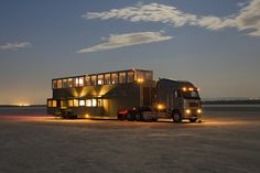 Luxueus motorhome The Heat - http://dailym.net/2014/01/luxueus-motorhome-the-heat/