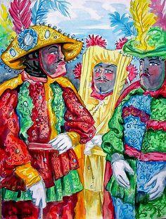 Los Caballeros - fiestas de Santiago apostol en Loíza aldea-Samuel Lind, nacido en Loiza.