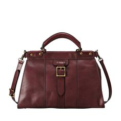 FOSSIL® Handbag Silhouettes Satchel & Shoulder Handbags:Handbag Silhouettes Vintage Revival Satchel ZB5425