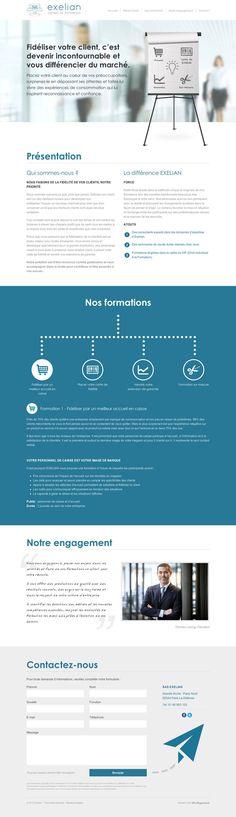 Exelian - idéveloppement : création de site internet bordeaux #webdesign #frontend #backend
