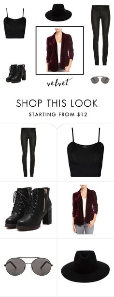 """""""Velvet touch!"""" by unknown-style-cxx ❤ liked on Polyvore featuring ElleSD, WearAll, cupcakes and cashmere, Seafolly and rag & bone"""