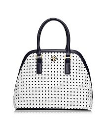 And my next TB purchase will be....swooning over this  ROBINSON BASKET-WEAVE OPEN DOME SATCHEL