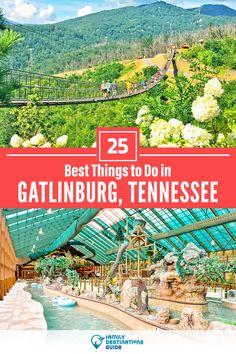 Gatlinburg Vacation, Gatlinburg Tennessee, Tennessee Vacation, Tennessee Cabins, Vacation Places, Vacation Trips, Vacation Spots, Places To Travel, Weekend Trips