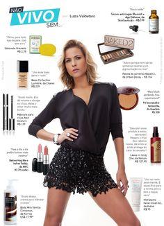 Antirrugas, sabonete, maquiagem: Luiza Valdetaro lista seu 'top 10'