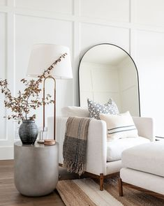 Home Living Room, Living Room Designs, Living Room Decor, Living Spaces, Bedroom Decor, Mirrors In Living Room, Living Room Inspiration, Home Decor Inspiration, Cheap Home Decor
