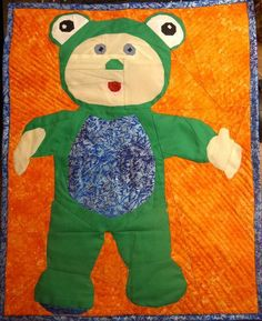 (7) Name: 'Quilting : Free PDF Cabbage Patch Kid Forest Friends Frog