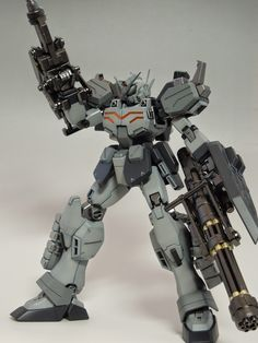 MG 1/100 Gundam Heavyarms EW - Painted Build   Images via Fg-Site