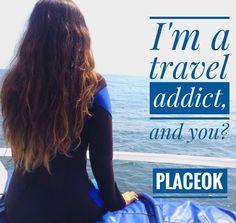 I am a #traveladdict and you?  Tag the person you'll consider a travel addict!  www.placeok.com  #placeok #placeokstudio #travelblog #travelbloggers #traveladdiction #traveladdicted #travelstoke #newadventure #triplovers #beachlife #travelgirl #girlsrule #visitperu #peru #visitlima #callao #lima #viajaseguro