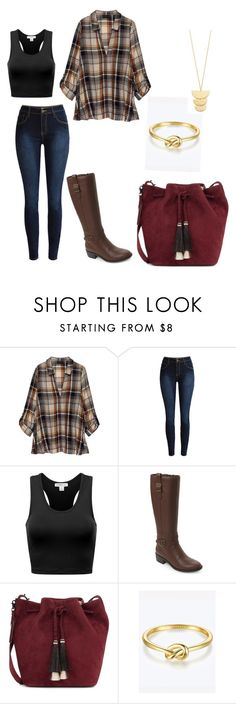 """""""Outfit"""" by taylor-ross115 on Polyvore featuring Bobeau, Cole Haan, Loeffler Randall and Gorjana"""