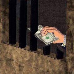 Satire art by unknown artist Satire, Make Money Online, How To Make Money, Meaningful Pictures, Meaningful Drawings, Powerful Pictures, Satirical Illustrations, Urban Street Art, Social Art
