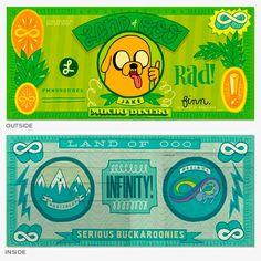 Adventure Time II - Jesse LeDoux Wallet 2