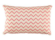 Cushion zigzag pink.  Perfect way to decorate the sofa. Pillow is included. You can combine it with many other products to create an harmonious decoration.  Designed and made in Spain