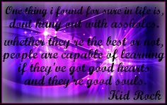 Kid Rock Quote