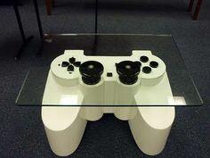Video gane controller table