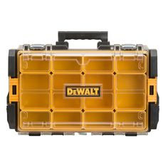 DEWALT 22 in. Tough System Case with Clear Lid, Black-DWST08202 - The Home Depot