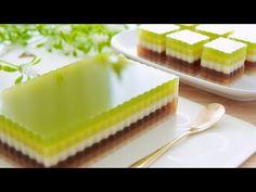Resep Kue Jelly Lapisan Indah (Beautiful Layer Jelly Cake) #littleduckkitchen - YouTube Agar Agar Jelly, Sweet Soup, Jelly Cake, Little Duck, Mooncake, Bubble Tea, Jello, Soups, Cheesecake