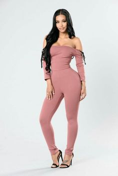 cf6a6c7139c8 LUVCLS Rompers Slash Neck Jumpsuit Women Autumn Sexy Off Shoulder Bandage  Bodysuit Slash Neck Elegant Overalls Playsuit Jumpsuit