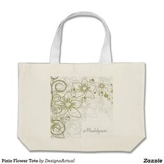 Pixie Flower Tote