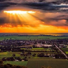 Barossa Valley South #Australia by swannysa (instagram). Home to some of the world's boldest wines.