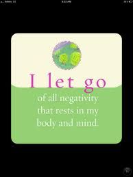 Let go of all negativity now...