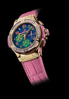 TimeZone : Industry News » Geneva Trade Fair - Hublot Big Bang Pop Art