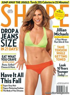 ec3fd4b2dfca9 Jillian Michaels - Shape Magazine Cover  United States  (September 2012)  Fitness Inspiration