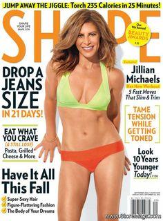 Jillian Michaels - Shape Magazine Cover [United States] (September 2012)