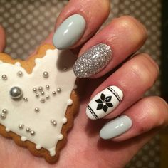 #winter #nails #nailstyle