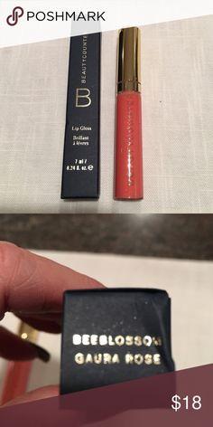 Beautycounter Lip gloss in Beeblossom. NIB Beautycounter Lip gloss in Coralbell. NIB Beautycounter Makeup Lip Balm & Gloss