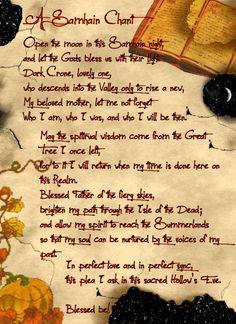 (BOOK OF SHADOWS ♥) Samhain é também o momento tradicional para celebrar a última das colheitas e se preparar para o Verão.
