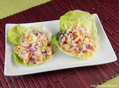 Healthy Chipotle Chicken Vegetable Lettuce Wraps Recipe on Yummly