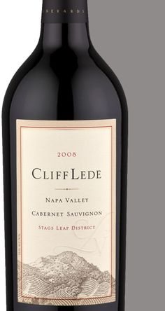 Cliff Lede Cabernet Sauvignon...by far the best and most expensive wine I've ever had.