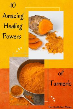 This wonderful spice Turmeric has so many healing powers. Find out why you should be using it every day. #turmeric #naturalremedies #healthbenefitsofturmeric #turmericbenefits #holistic #rheumatoidarthritis #arthritis #cancer #diabetes #weightloss #cholesterol #thehealthnutmama Holistic Nutrition, Proper Nutrition, Nutrition Guide, Health And Nutrition, Natural Hemroid Remedies, Natural Remedies For Migraines, Natural Health Remedies, Thyroid Health, Gut Health