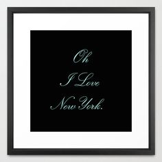 Typography Print - Canvas Art - Breakfast at Tiffany's - Quotes - Typography - Home Decor -  Wall Decor - New York City - Tiffany Blue