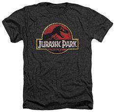 Jurassic Park - Stone Logo T-Shirt Size L @ niftywarehouse.com