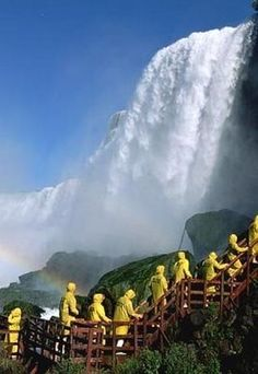 Niagara Falls: Known for their massive beauty that lures people from all around the world. The Places Youll Go, Great Places, Places To See, Beautiful Places, Dream Vacations, Vacation Spots, American Falls, Monuments, Destinations