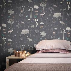 Designer Wallpaper Online Store for USA & Canada Wallpaper Online, Kids Wallpaper, Nature Wallpaper, Application Pattern, Elle Decor, Designer Wallpaper, Room Interior, Bed Pillows, Pillow Cases