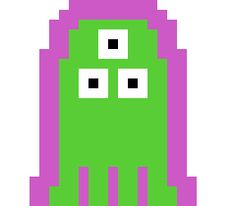 Our second candidate for Project Spaghetti's alien enemy. For variation, we kept the ghost shape, but threw away the hovercraft and glass-like shield for an energy shield and tentacles. (and we threw in a few more eyes) The collision shape is fine, but something about it just came too close to the ghost for our taste.