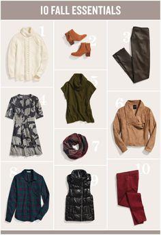 Stitch Fix Fall Fashion Essentials