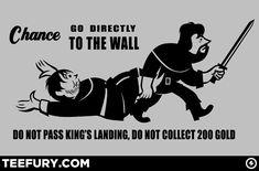 Montygog's Art-O-Rama!: Board Game n' Thrones by Dave Parillo