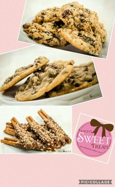 Cookies and Dipped Pretzels