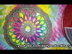 Rainbow Loom (bracelet bangle) Dreamcatcher  ~BASIC STEPS TUTORIAL~ - YouTube