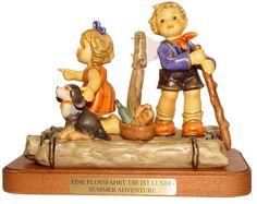 """M. I. Hummel Summer Adventure Figurine Hummel Reference Number 151832 Hummel Figurine Number 2124 - Size 5.75"""" - Issue Price $695.00"""