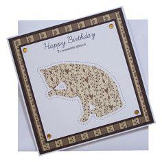 Handmade Cat Birthday Card £1.80