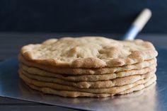 March 2. Stack o' grain-free pizza crusts. #grainfree #glutenfree #pizza #ottosnaturalscassavaflour #bobsredmill #365photographyproject #365project
