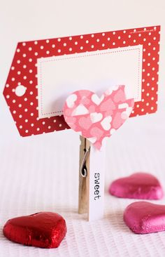 Omiyage Blogs: Guest Post: DIY Heart Memo Holder