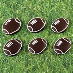 Football Royal Icing Decorations