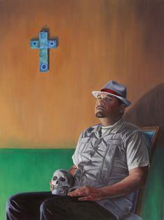 Eric Almanza Chicano Art, Social Issues, Track, Artists, Baseball Cards, My Love, Runway, Truck, Running