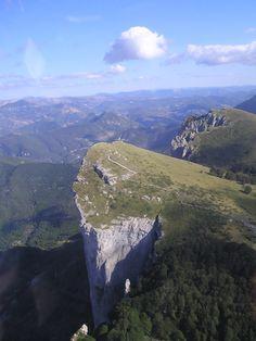 Les Trois Becs, in de Drôme