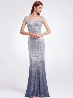 c2b1a1804ccc Ever-pretty - Ever-Pretty Womens Sequins Evening Cocktail Gala Party Long  Maxi Wedding Dresses for Women 08999 Blue US 14 - Walmart.com